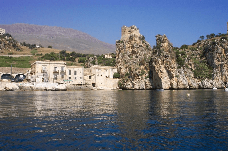Tonnara di Scopello, near villa for rent Scopello. Vacation rental Sicily